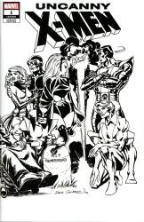 Marvel - Uncanny X-Men (2018) # 1 Cockrum B&w Hidden Gem Wraparound Variant