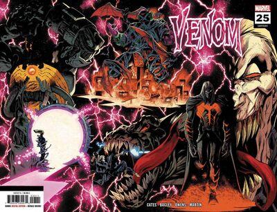 Venom (2018) # 25 2nd Printing Wraparound Variant