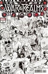 Marvel - War Of Realms # 1 Conner Party Sketch Variant