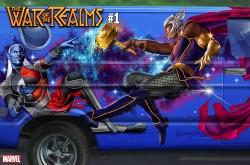 Marvel - War Of Realms # 1 Horn Van Variant