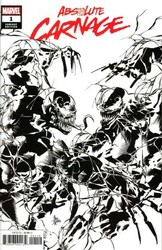 Marvel - Absolute Carnage # 1 Deodato Party Black And White Variant