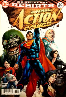 Action Comics # 957 2nd PTG