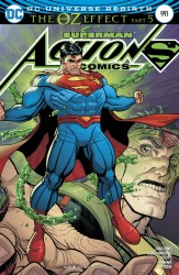 DC - Action Comics # 991 (Oz Effect) Lenticular Variant