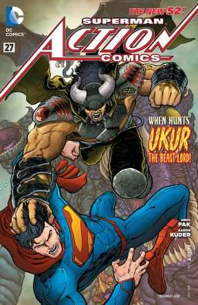 DC - Action Comics (New 52) # 27