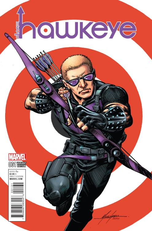 Marvel - All New Hawkeye # 1 Grell Classic Variant