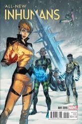 Marvel - All New Inhumans # 1 Caselli Variant