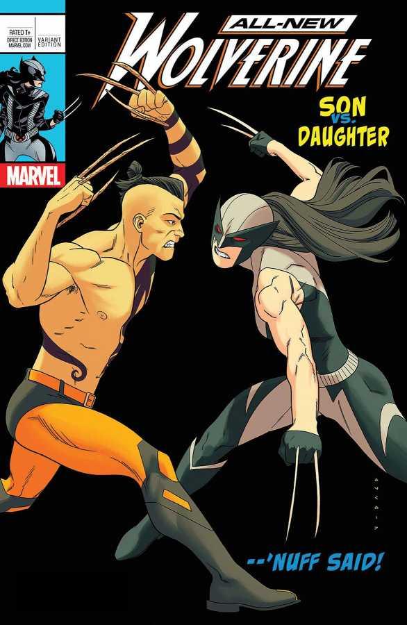 Marvel - All New Wolverine # 25 Anka Lenticular Homage Variant Leg