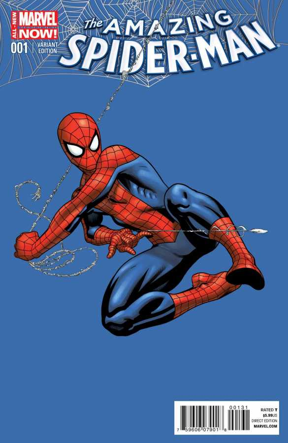 Marvel - Amazing Spider-Man (2014) # 1 1:75 McGuinness Variant