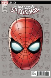 Marvel - Amazing Spider-Man # 789 McKone Headshot Variant Leg
