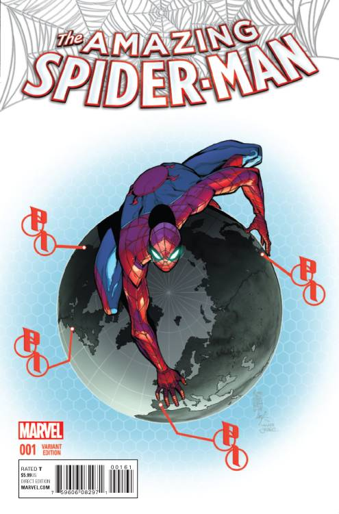 Marvel - Amazing Spider-Man # 1 Camuncoli Variant
