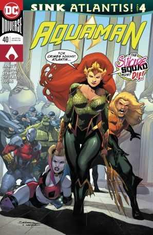 DC - Aquaman # 40 (Sink Atlantis)