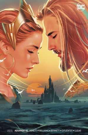 DC - Aquaman # 40 (Sink Atlantis) Middleton Variant