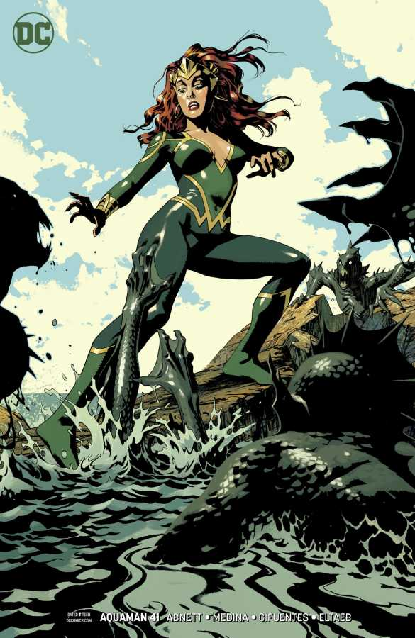 DC - Aquaman # 41 (Drowned Earth) Joshua Middleton Variant