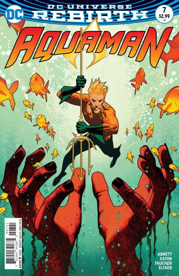 DC - Aquaman # 7 Variant