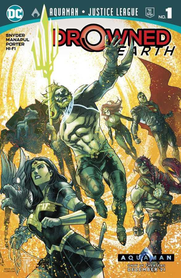 Aquaman Justice League Drowned Earth # 1