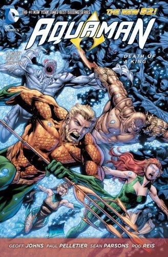 DC - Aquaman (New 52) Vol 4 Death of a King TPB