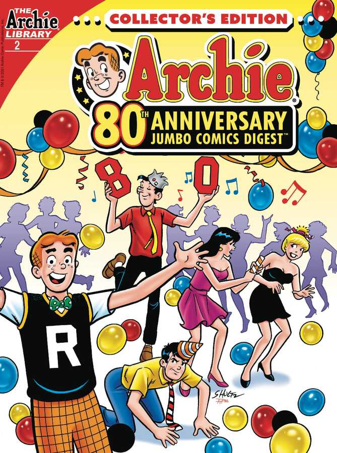Archie Comics - ARCHIE 80TH ANNIVERSARY JUMBO COMICS DIGEST # 2