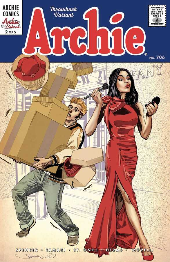 Archie Comics - ARCHIE # 706 (ARCHIE & SABRINA PT 2) CVR C MOONEY