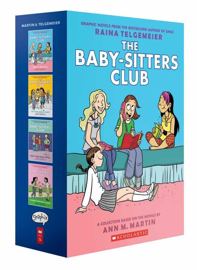 Diğer - Baby-Sitters Club Graphix Vol 1-4 Box Set Full-Color Edition TPB
