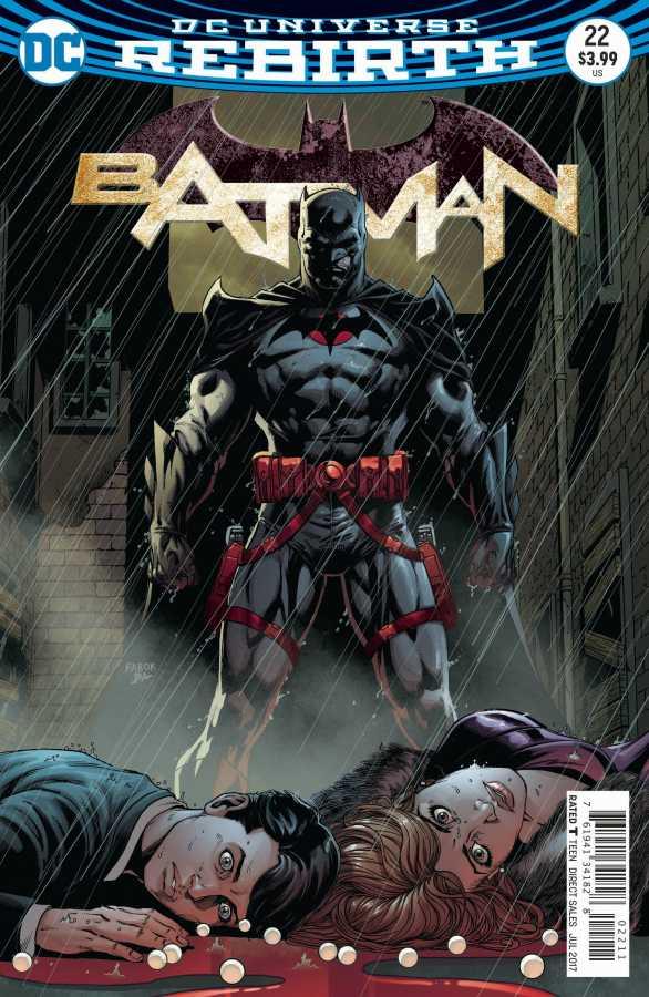 DC - Batman # 22 (The Button) Lenticular Cover