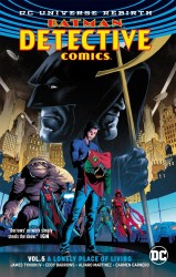 DC - Batman Detective Comics (Rebirth) Vol 5 Lonely Place To Living TPB