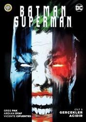 JBC Yayıncılık - Batman Superman (Yeni 52) Cilt 5 Gerçekler Acıdır