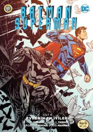 JBC Yayıncılık - Batman Superman (Yeni 52) Cilt 6 Evrenin En İyileri