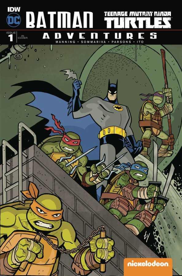 IDW - Batman Teenage Mutant Ninja Turtles Adventures # 1 1:25 Variant
