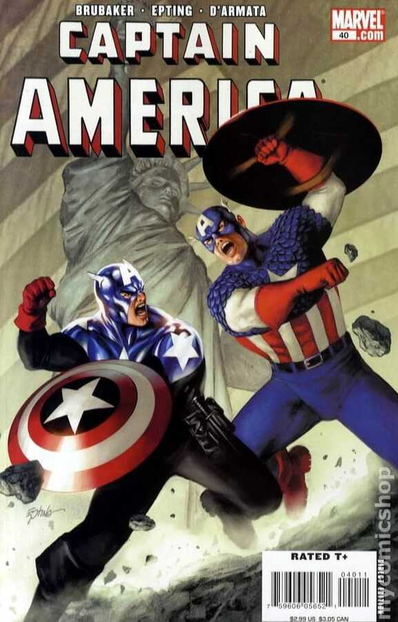 Marvel - CAPTAIN AMERICA (2004) # 40