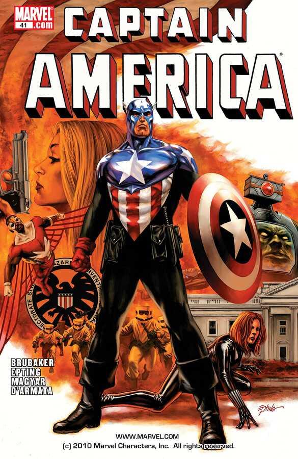 Marvel - CAPTAIN AMERICA (2004) # 41