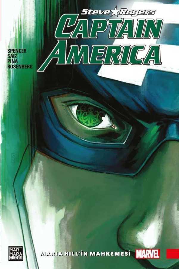 Marmara Çizgi - Captain America Steve Rogers Cilt 2 Maria Hill'in Mahkemesi