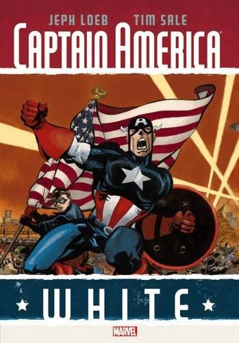 Marvel - Captain America White HC