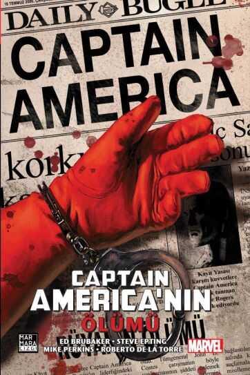 Marmara Çizgi - Captain America'nın Ölümü Sert Kapak Özel Edisyon