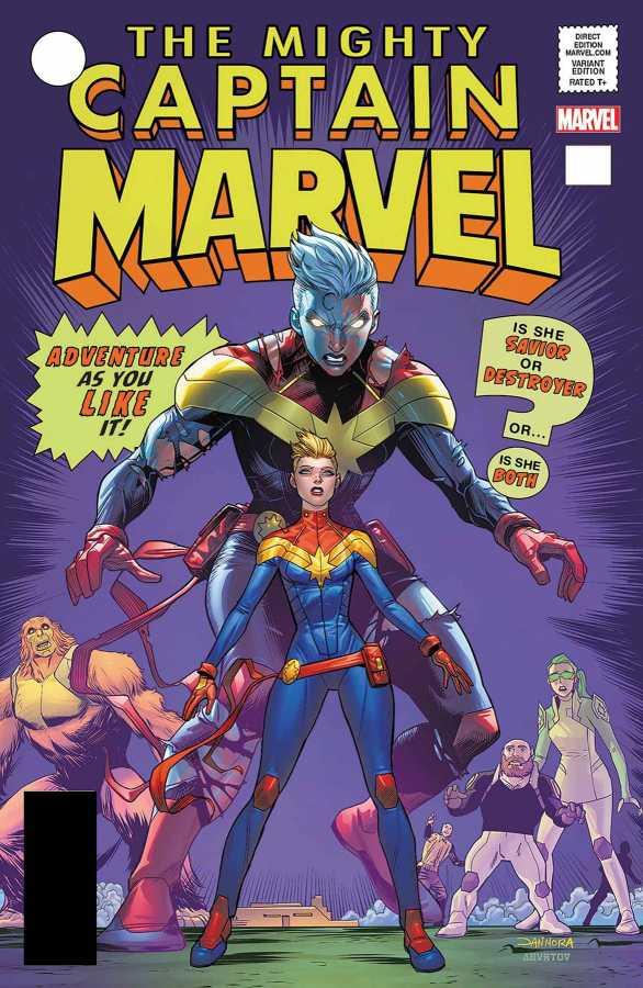 Marvel - Captain Marvel # 125 Mora Lenticular Homage Variant