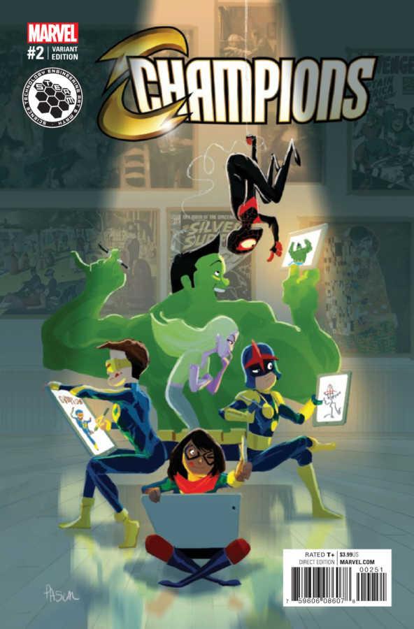 Marvel - Champions # 2 STEAM Variant