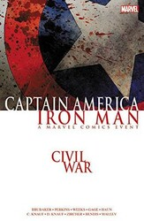 Marvel - Civil War Captain America Iron Man TPB