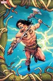 Marvel - Conan Serpent War # 1 Camuncoli Virgin Connecting Variant