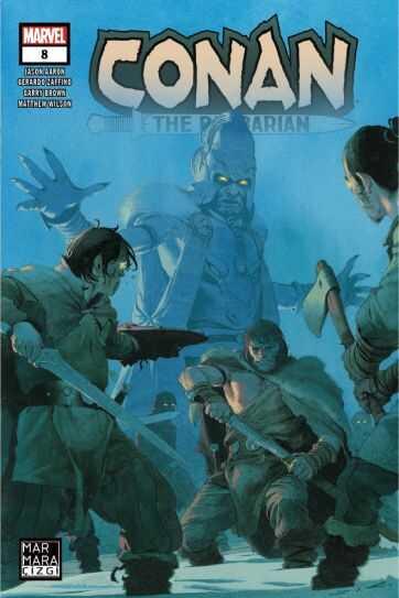Marmara Çizgi - Conan The Barbarian Sayı 8