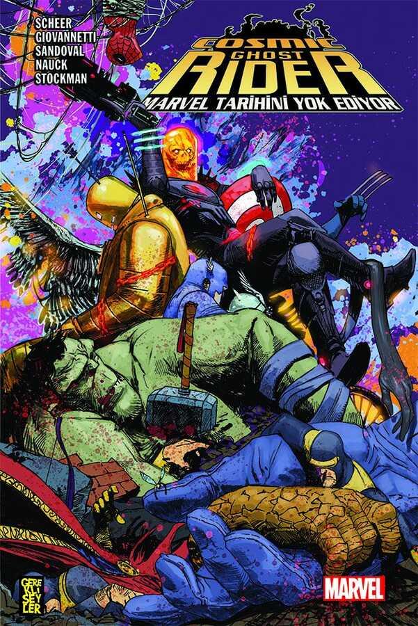 Gerekli Şeyler - Cosmic Ghost Rider Marvel Tarihini Yok Ediyor