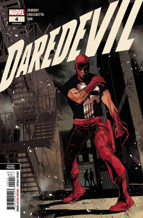 Marvel - Daredevil (2019) # 4 2nd Ptg