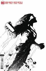 DC - Dark Nights Death Metal # 3 1:100 Capullo B&W Variant