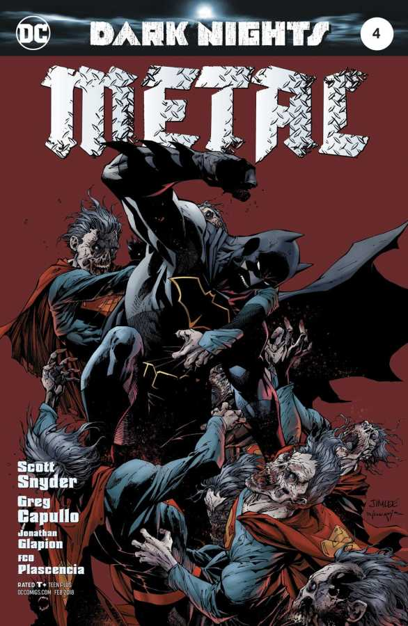 DC - Dark Nights Metal # 4 Jim Lee Variant