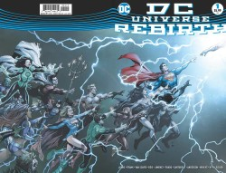 DC - DC Universe Rebirth # 1 2nd Printing