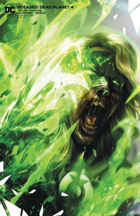 DC - Dceased Dead Planet # 4 Mattina Variant