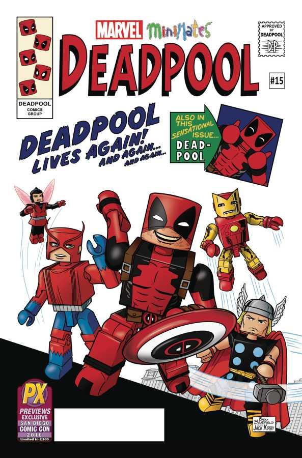 Marvel - Deadpool # 15 SDCC 2016 Minimates Variant