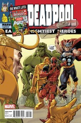 Marvel - Deadpool # 45 Avengers Variant