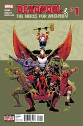 Marvel - Deadpool & The Mercs For Money (2. Seri) # 1