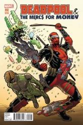 Marvel - Deadpool Mercs For Money # 2 (Vol 2) 1:25 Sliney Variant