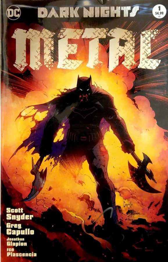 Dynamite - DF Dark Nights Metal # 1 Variant Limitli Scott Snyder İmzalı Sertifikalı