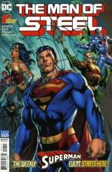 DC - DF Man Of Steel # 1 Brian Micheal Bendis İmzalı